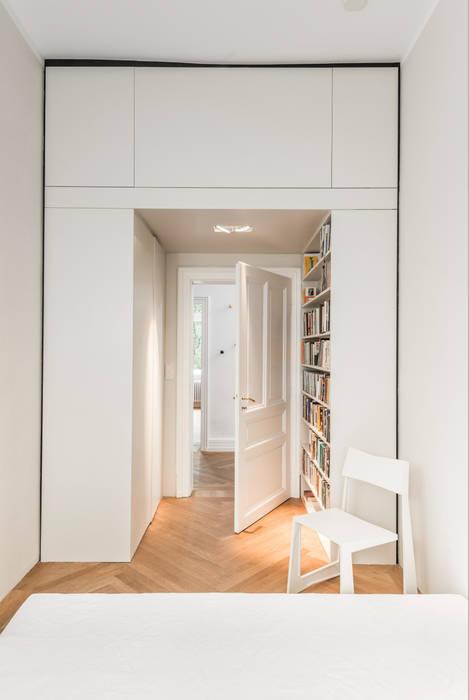 Schlafzimmerplanung, durchgehbarer kleiderschrank: moderne ...