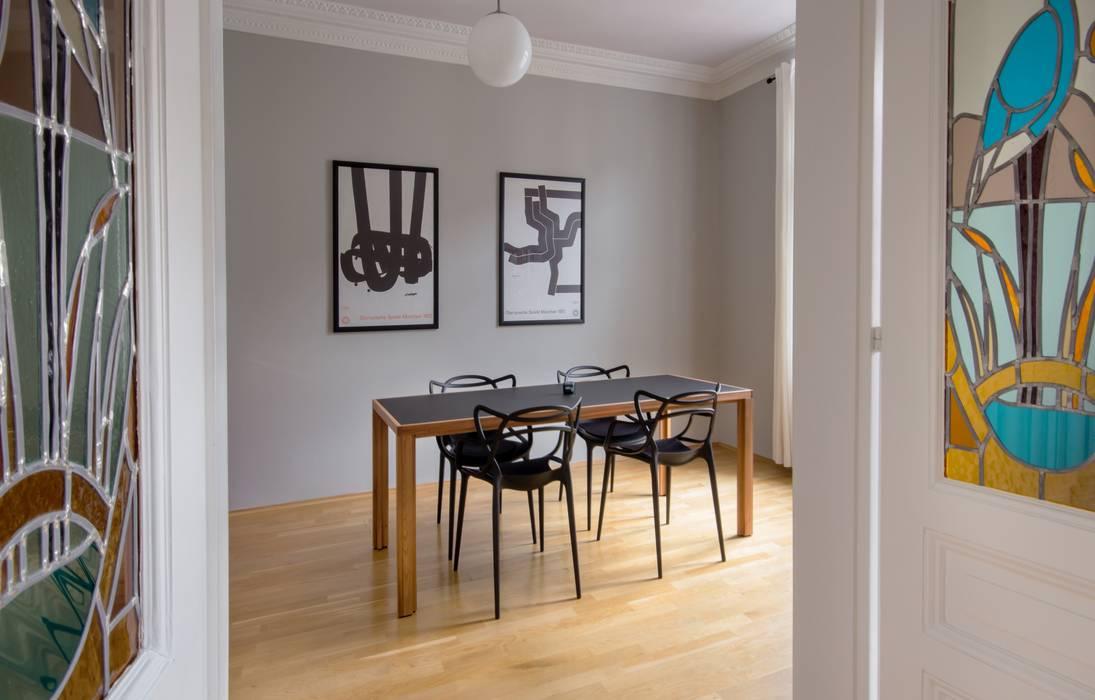 Interior design wohn-/esszimmer: skandinavische esszimmer von ...
