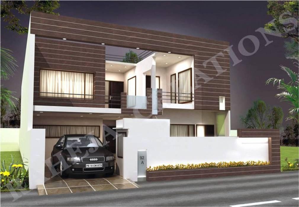 Interior Modern houses by Raheja Creations Modern