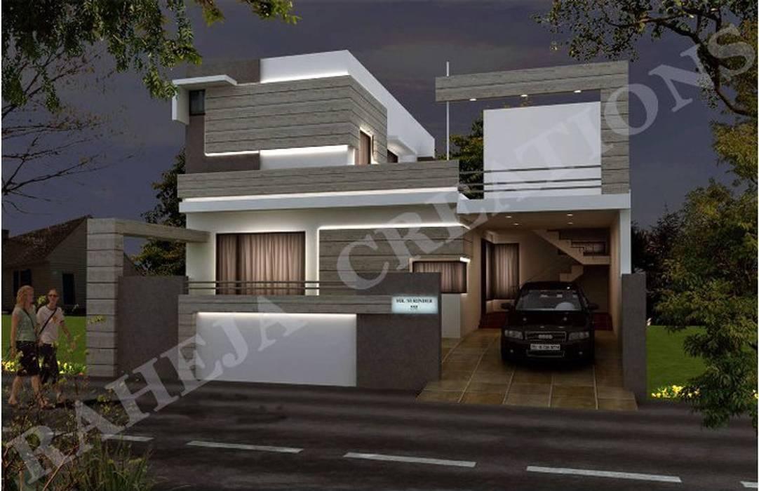 Modern houses by Raheja Creations Modern