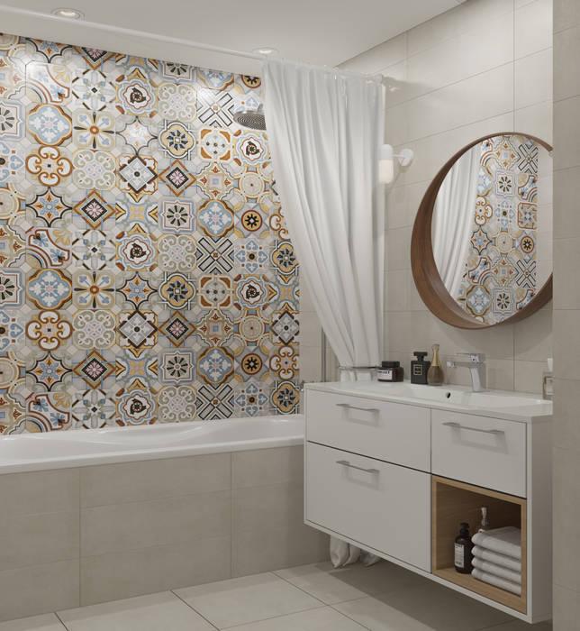 Salle de bain scandinave par om design scandinave | homify