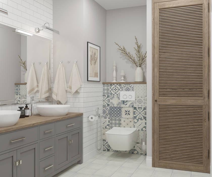 ห้องน้ำ โดย OM DESIGN,