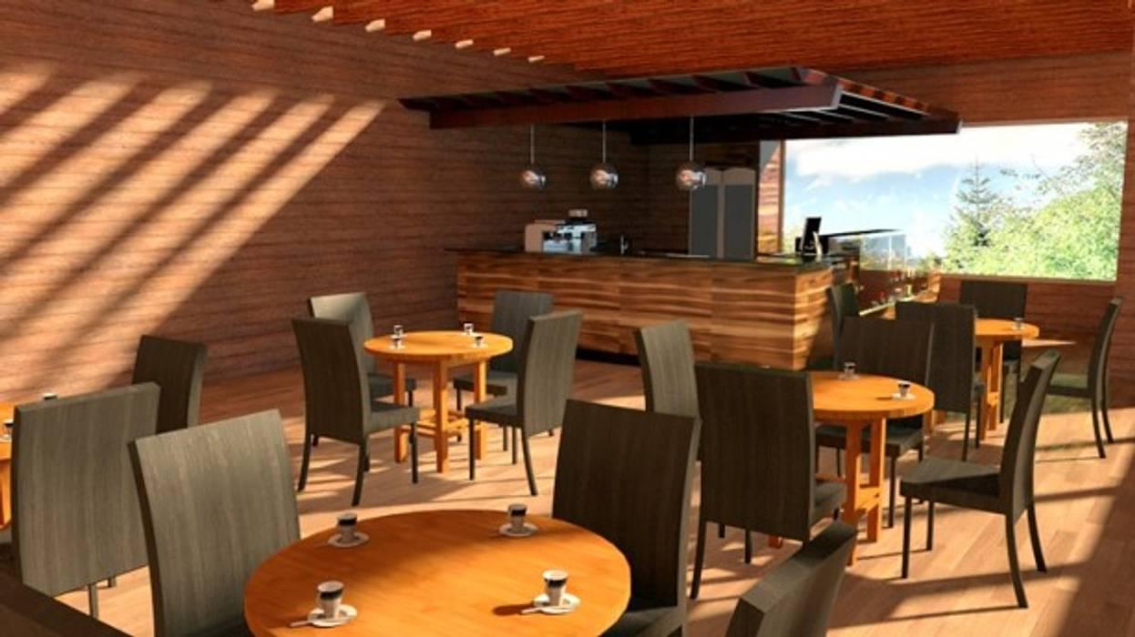 Proyecto Lodge Manquemapu de Aedo Arquitectos & Design Moderno Madera Acabado en madera