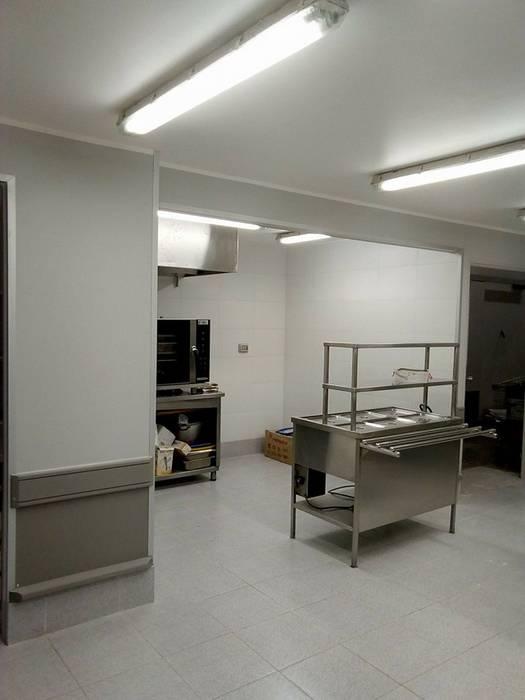 Remodelacion SBA Chiguayante , cadena de supermercados Wallmark de Aedo Arquitectos & Design Moderno Cerámico