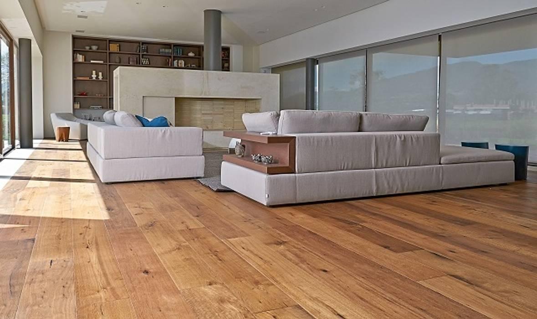Sala en casa en la Pradera de Potosi Salas de estilo rústico de Pisos Millenium Rústico Madera Acabado en madera