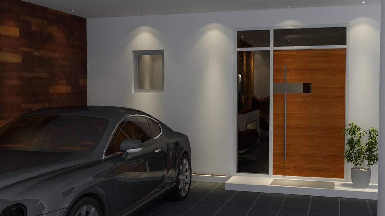 Project 9 Moderne Garagen & Schuppen von Rhythm And Emphasis Design Studio Modern