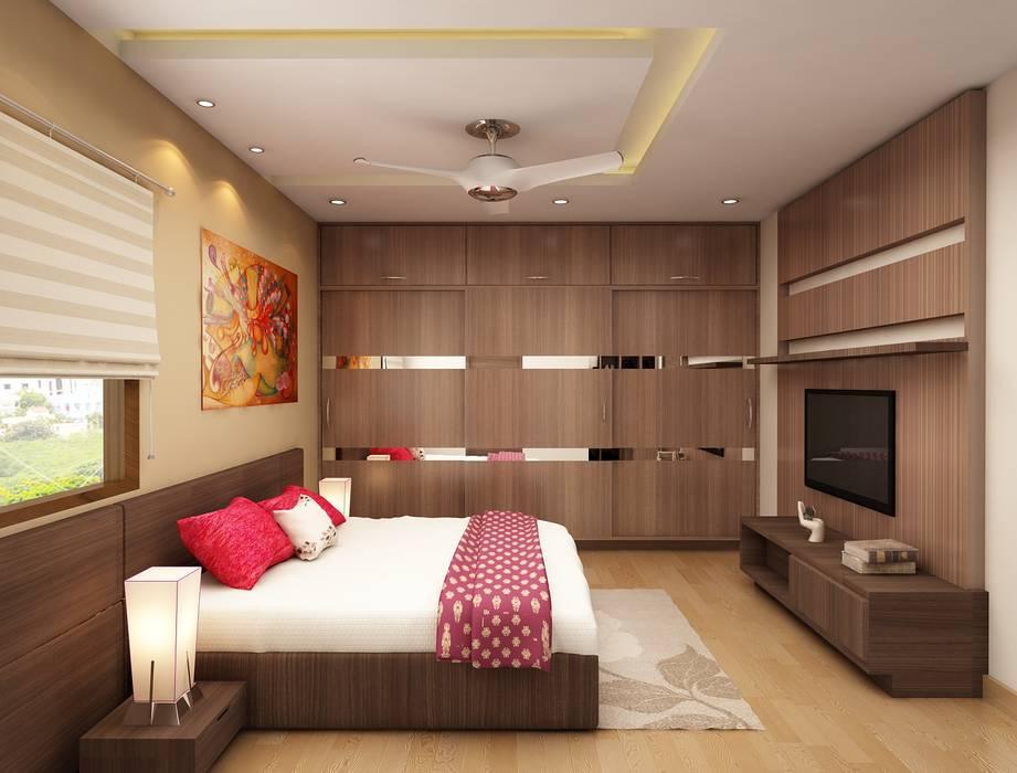 Minimal Interiors Design For Bedroom