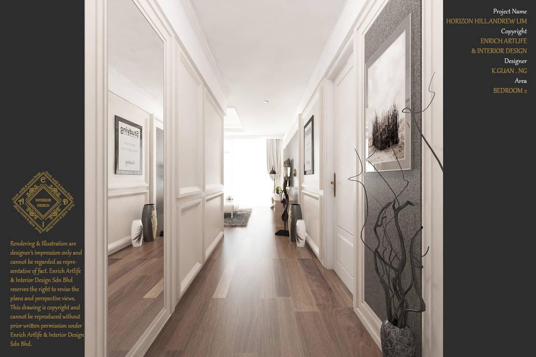 Bungalow Design -Horizon Hill Johor Bahru,Malaysia:  Nursery/kid's room by Enrich Artlife & Interior Design Sdn Bhd,