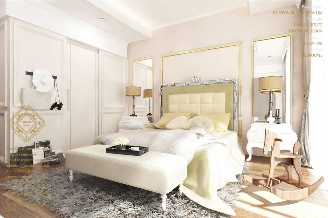 Bungalow Design -Horizon Hill Johor Bahru,Malaysia by Enrich Artlife & Interior Design Sdn Bhd Modern