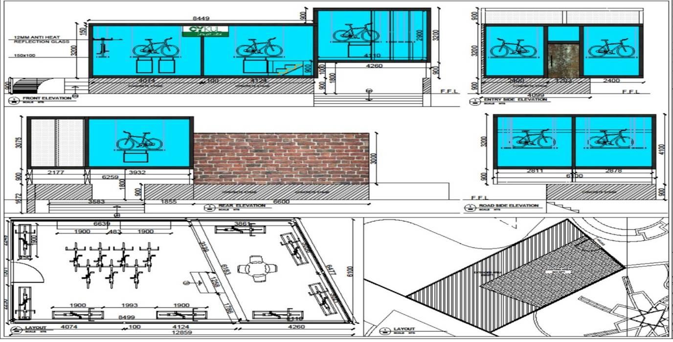 Floor Plan: modern  by Rhythm  And Emphasis Design Studio ,Modern