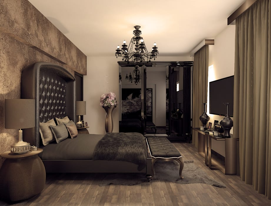 Kamar Tidur oleh Rhythm  And Emphasis Design Studio , Klasik