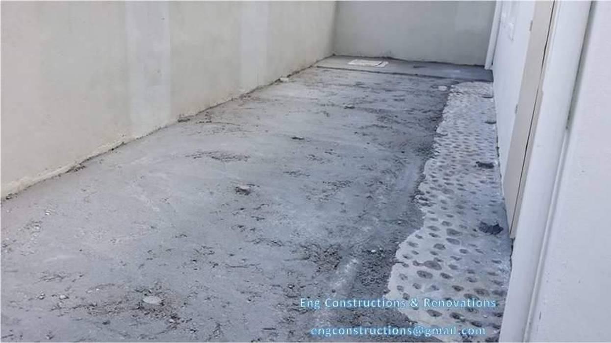 Outdoor Tiling Sam Contractors Ipoh Floors Concrete Grey
