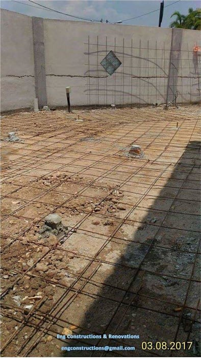 Outdoor Tiling by Sam Contractors Ipoh Asian Concrete