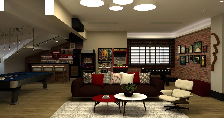 Projekty,  Sprzęty RTV zaprojektowane przez Virna Carvalho Arquiteta