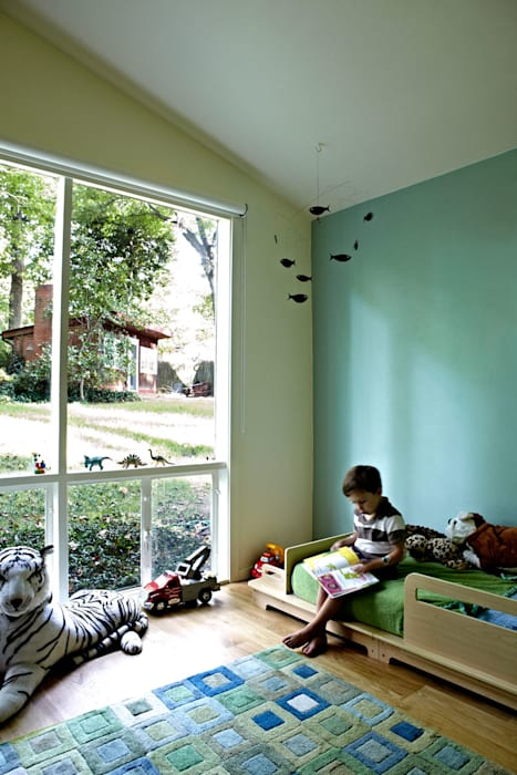 Architects Modern Modern Kid's Room by KUBE Architecture Modern