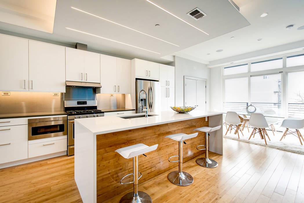 Divis Condo KUBE architecture Modern Kitchen