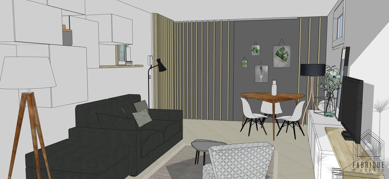 Couloir // cloison coulissante // appartement la garenne-colombes ...