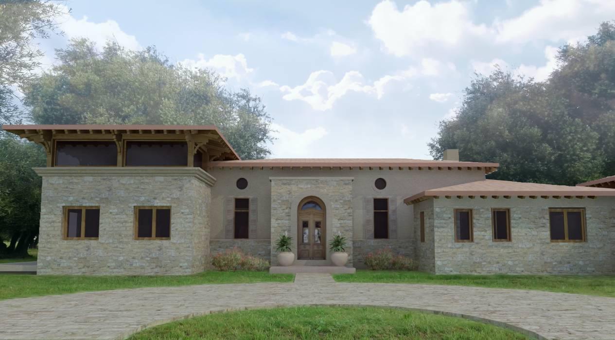 Дома в . Автор – Azcona Vega Arquitectos, Кантри