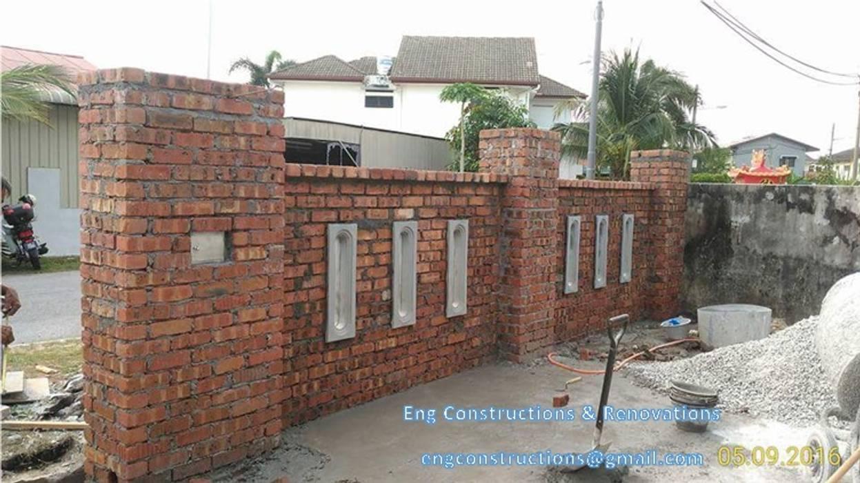 Moderne Wände & Böden von Sam Contractors Ipoh Modern