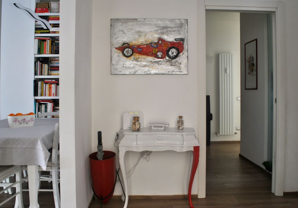 INGRESSO: Ingresso & Corridoio in stile  di BAGUA