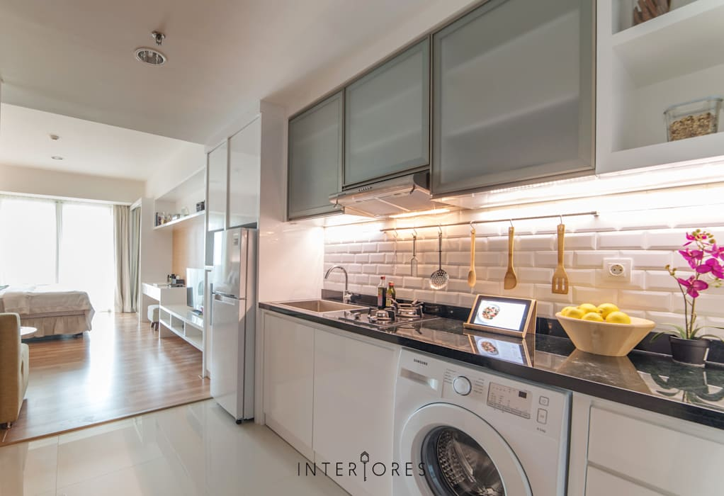 Dapur Dapur Minimalis Oleh INTERIORES - Interior Consultant & Build Minimalis