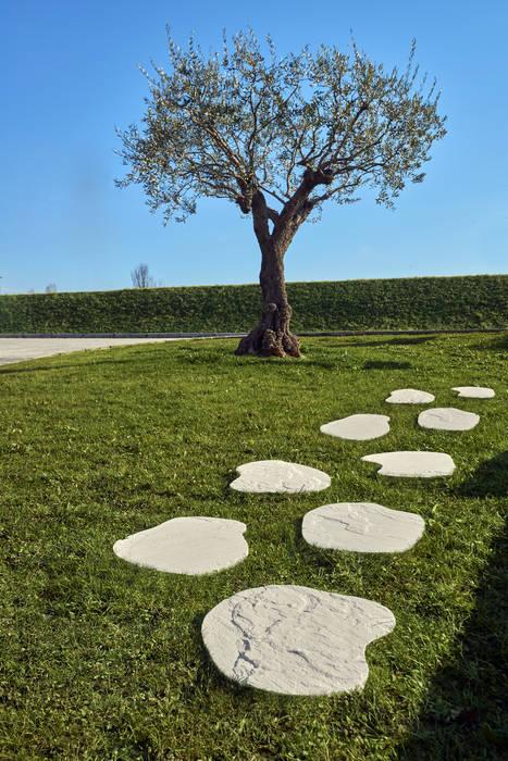 Camminamento da giardino Passi Giapponesi AUTENTIKA : Giardino in stile  di Arredo-Giardino.com