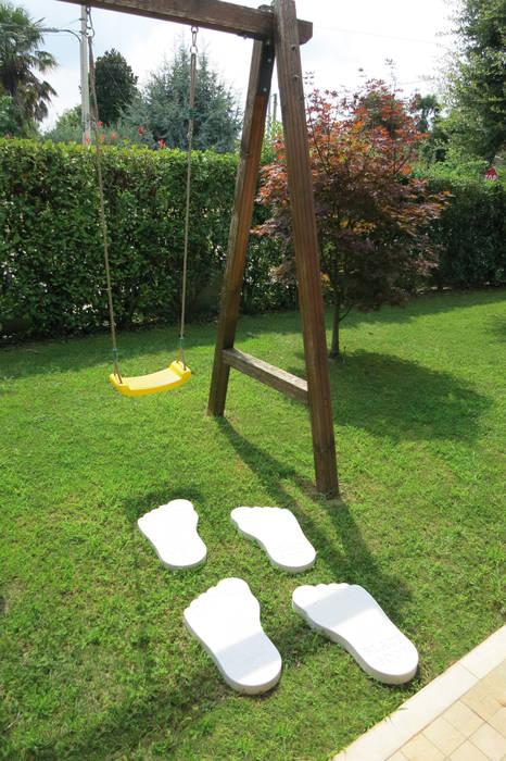 Camminamento giardino Yeti AUTENTIKA 54 x 29 h 4 cm - Venduto al pezzo: Giardino in stile in stile Moderno di Arredo-Giardino.com