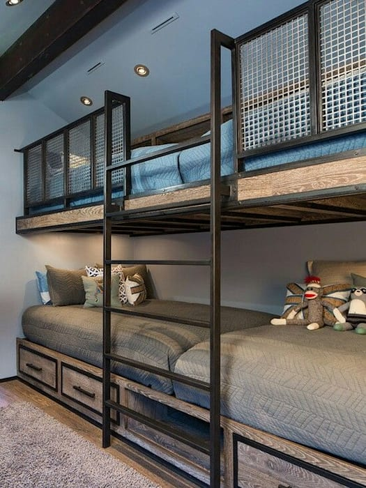 Dormitorios de estilo moderno de Karyola Başlığı Moderno Metal