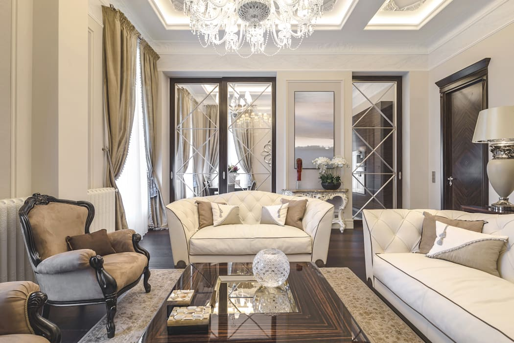 eclectic Living room by NG-STUDIO Interior Design
