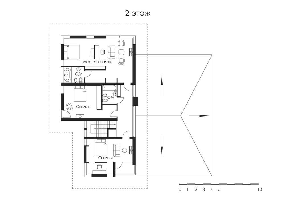 de estilo  por Архитектурное бюро,