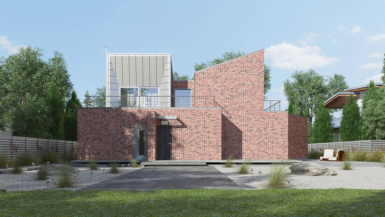 Дом в Анапе: Дома на одну семью в . Автор – Архитектурное бюро, Минимализм