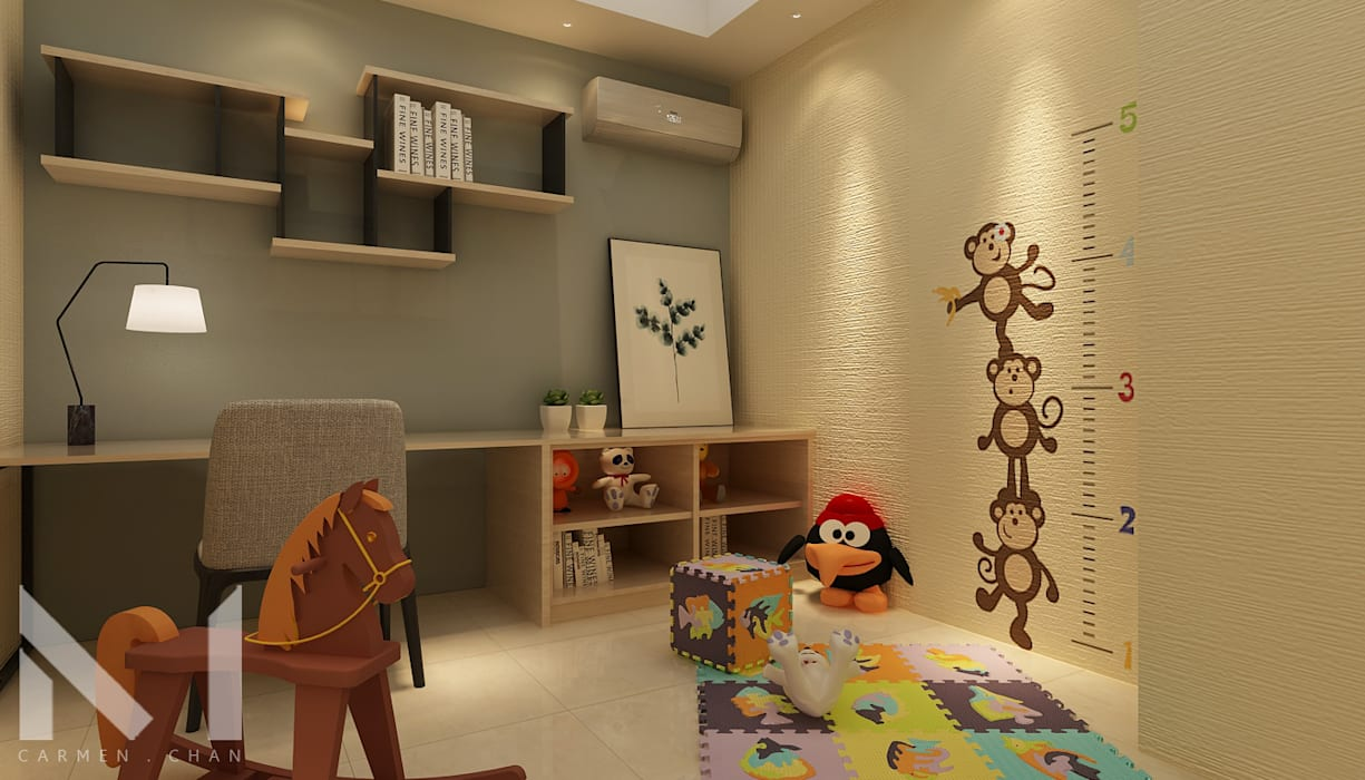 kids play room by Muse Studio Modern