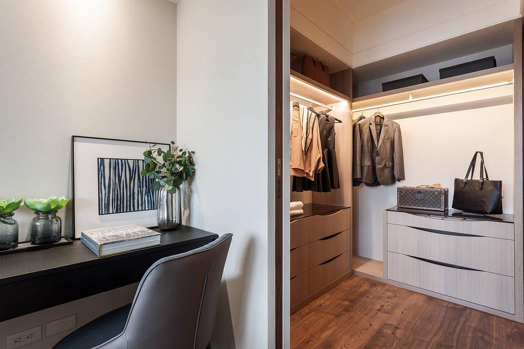 更衣室 根據 鼎士達室內裝修企劃 古典風