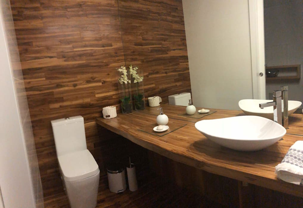 Fernando carvalho BathroomDecoration Wood Wood effect