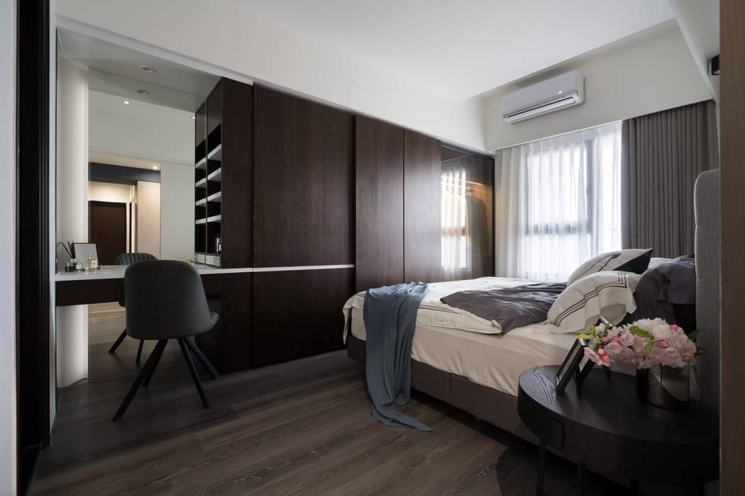 Dormitorios de estilo escandinavo de Moooi Design 驀翊設計 Escandinavo