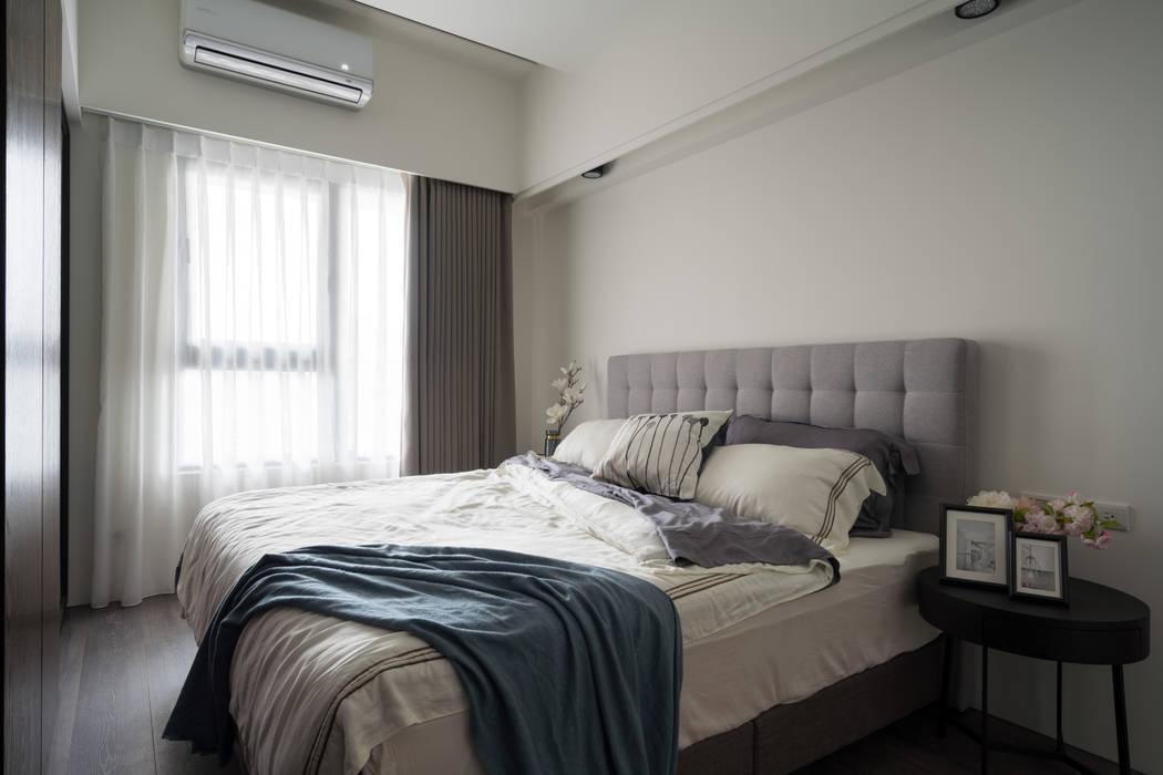 主臥 Scandinavian style bedroom by Moooi Design 驀翊設計 Scandinavian