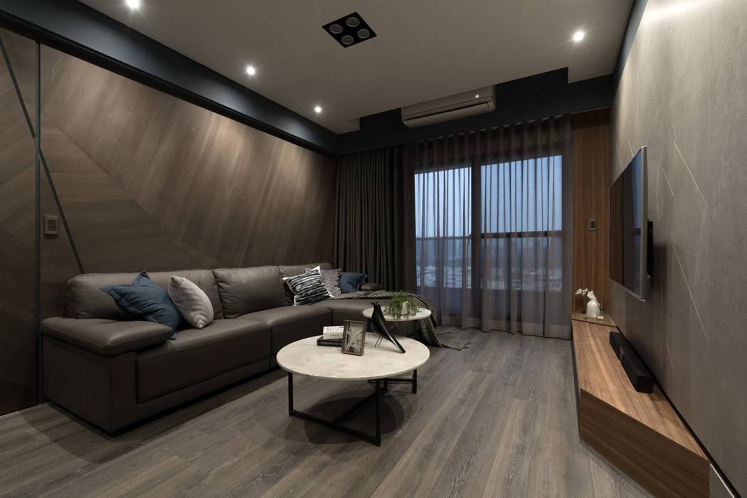 Skandinavische Wohnzimmer von Moooi Design 驀翊設計 Skandinavisch