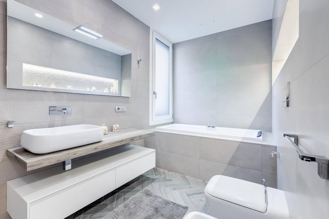 Baños de estilo minimalista de EF_Archidesign Minimalista