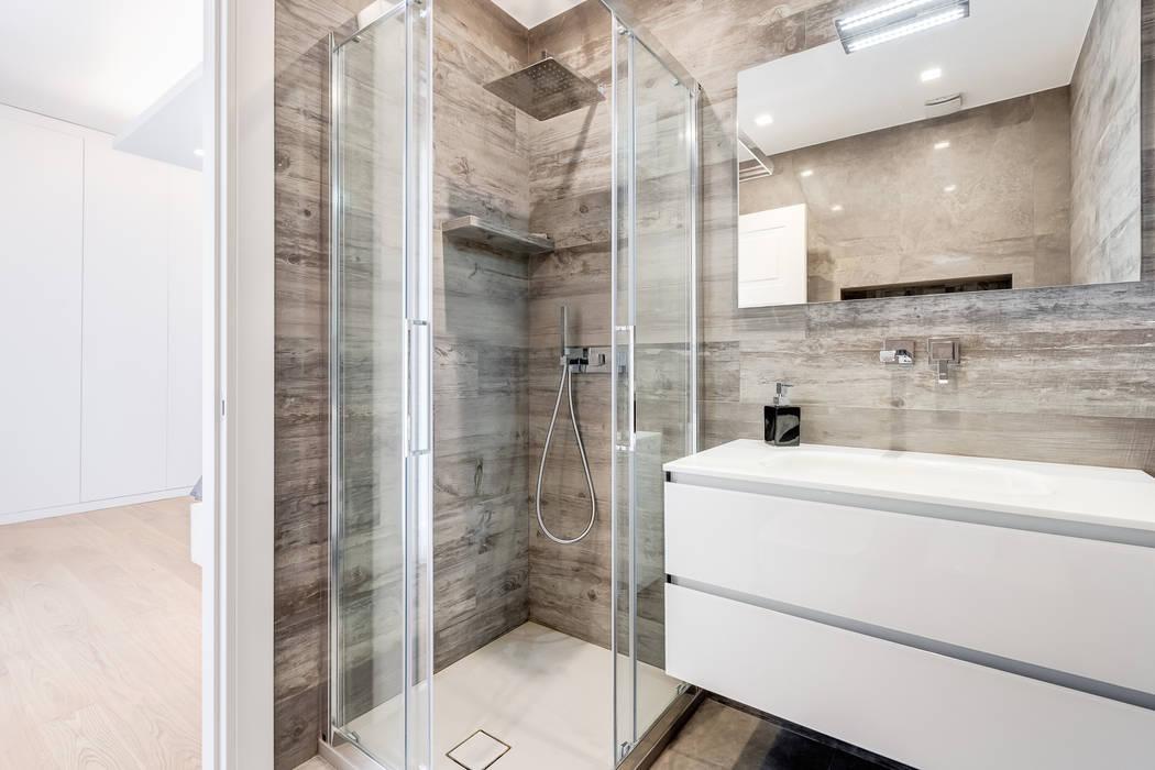 Bagno Stile Minimalista : Bagno minimal moderno rivestimento parete ceramiche fap terra