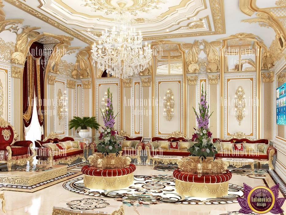 Kitchen Design Usa By Katrina Antonovich: Palace Interiors By Katrina Antonovich: Living Room By