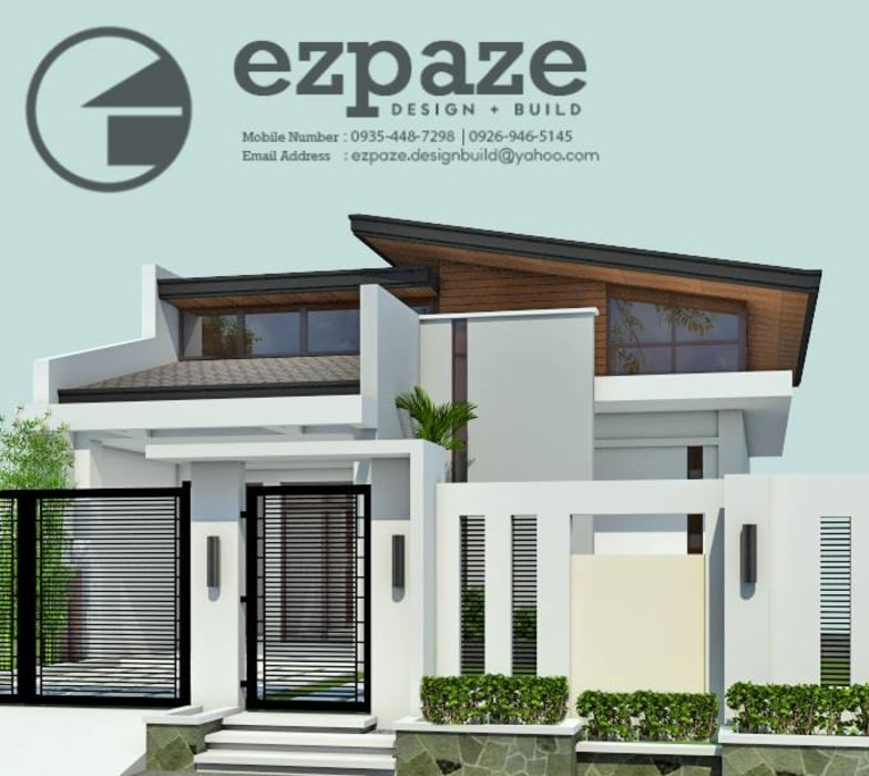 5 Bedroom Bungalow by ezpaze design+build Modern