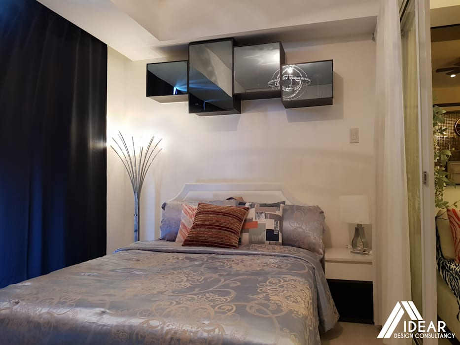 Sofisticato at Azure Urban Residences, Paranaque City:  Bedroom by Idear Architectural Design Consultancy