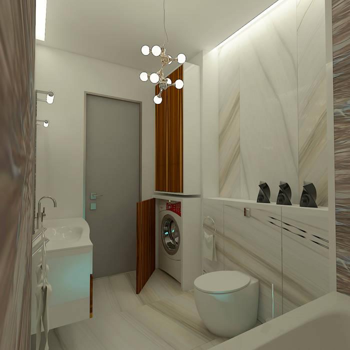 Le Yacht, Ванная комната: Ванные комнаты в . Автор – STUDIO DESIGN КРАСНЫЙ НОСОРОГ, Средиземноморский