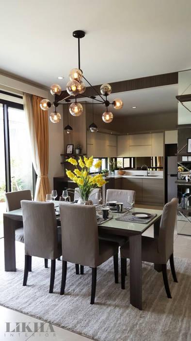 Ruang Makan: Ruang Makan oleh Likha Interior,