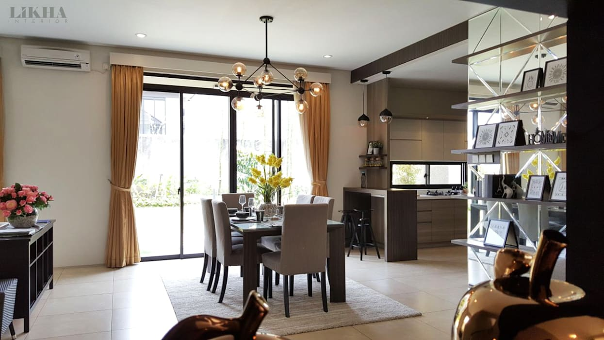 Ruang Makan Ruang Makan Modern Oleh Likha Interior Modern