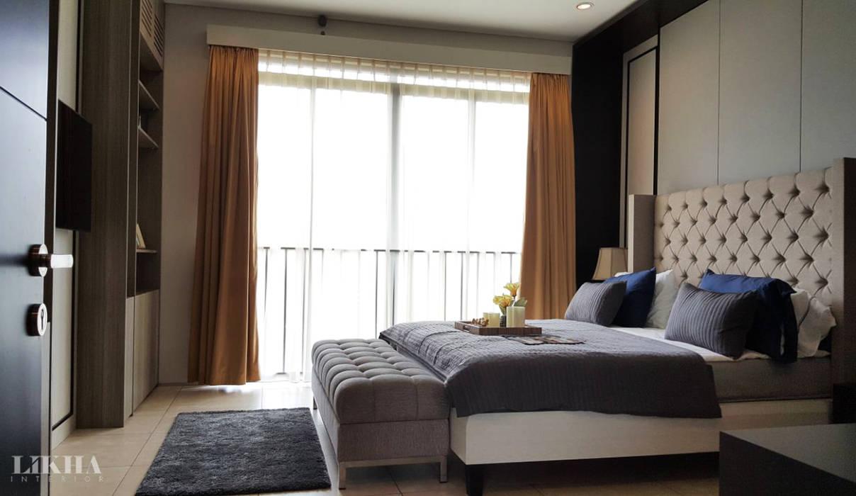 Ruang Tidur Utama Kamar Tidur Modern Oleh Likha Interior Modern