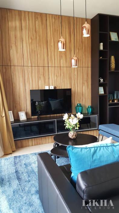 Ruang Tamu - Lantai 2 Ruang Keluarga Modern Oleh Likha Interior Modern Kayu Lapis