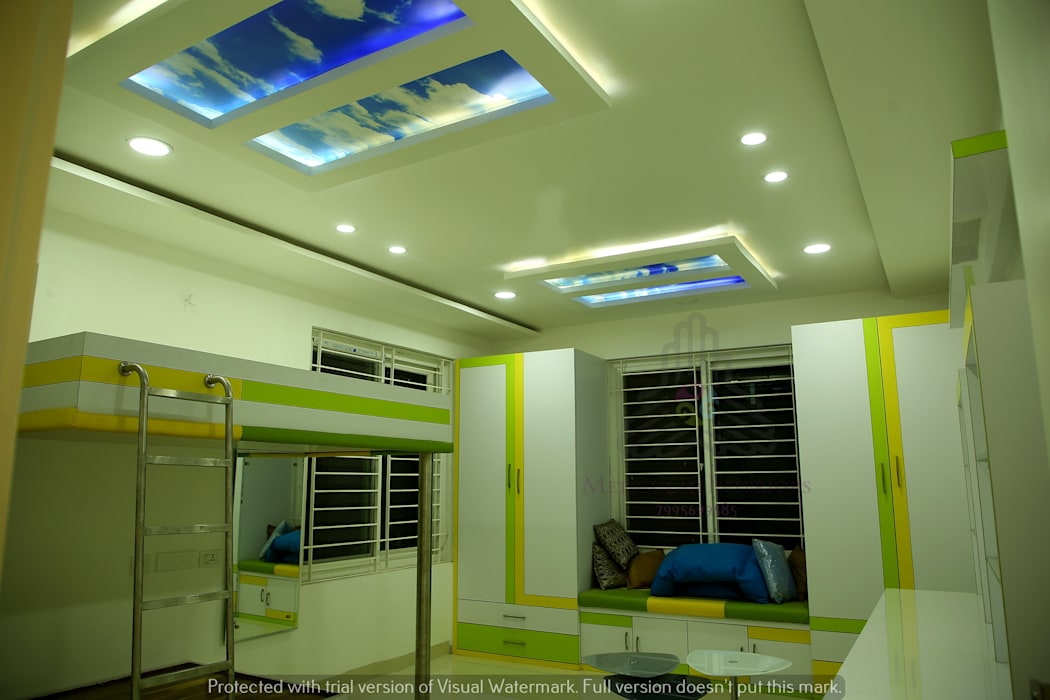 Project 1:  Living room by Meticular Interiors LLP,Modern