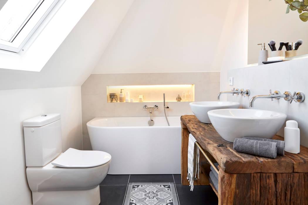 Badezimmer im klassisch modernen landhausstil badezimmer im ...