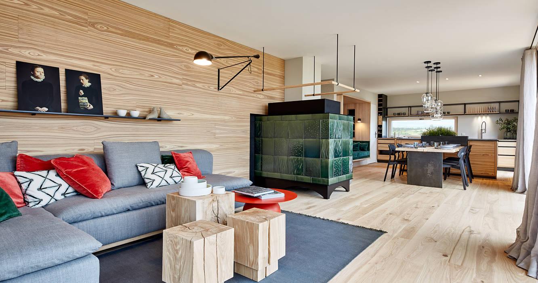 Musterhaus Heimat 4 0 Wohnzimmer Von Bau Fritz Gmbh Co Kg Homify